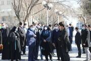 کلنگ بوستان وصال در منطقه ۱۹ تهران به زمین زده شد
