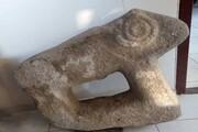 شهروند اسکویی قوچ سنگی را به میراث فرهنگی تحویل داد