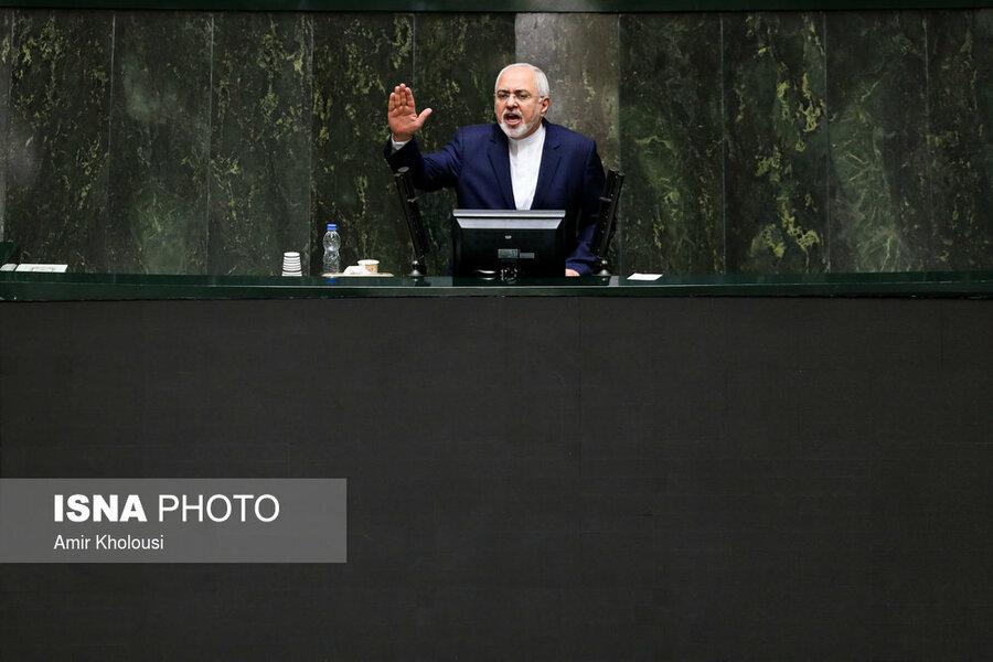 کارت زرد مجلس به وزیر خارجه