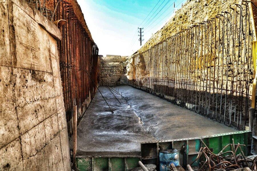 پروژه مدیریت سیلاب بزرگراه آزادگان