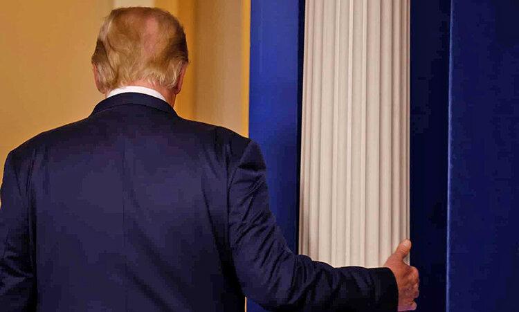 ترامپ در كاخ سفيد