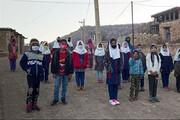 دانشآموزان روستاهای کوهدشت در آرزوهای تحصیل