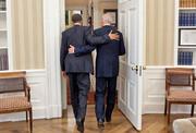 باراک اوباما با انتشار یک عکس ریاست جمهوری بایدن را تبریک گفت | حالا نوبت توست