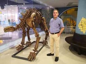 «بمب آتشفشان» به موزه دارآباد آمد