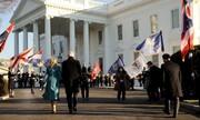 عکس روز| جیل و جو به کاخ سفید میروند