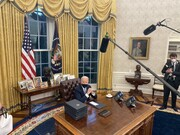 خبر فوری| آمریکا به توافقنامه اقلیمی پاریس بازگشت| ماسک زدن در ساختمانهای فدرال اجباری شد