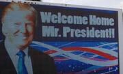عکس | ترامپ با استقبال مردم و هواداران به فلوریدا بازگشت