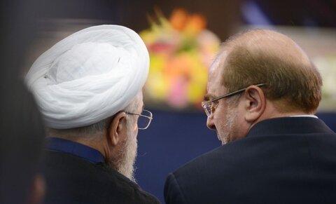 واکنش توییتری قالیباف خطاب به روحانی: از اینکه مجلس میخواهد بودجه و عواید نور چشمی ها را به نفع مردم اصلاح کند عصبانی شدهاید؟