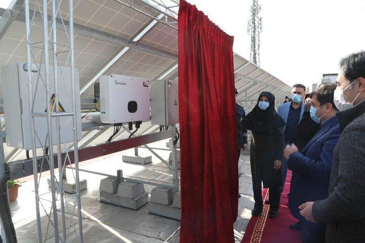 نیروگاه خورشیدی در منطقه ۱۹
