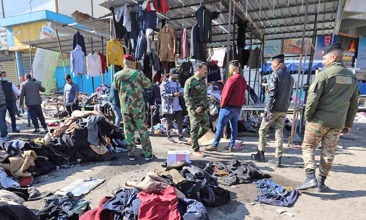 انفجارهاي انتحاري در بغداد