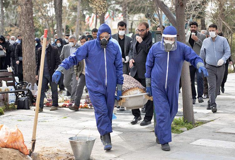 آمار مرگ كرونا در ايران