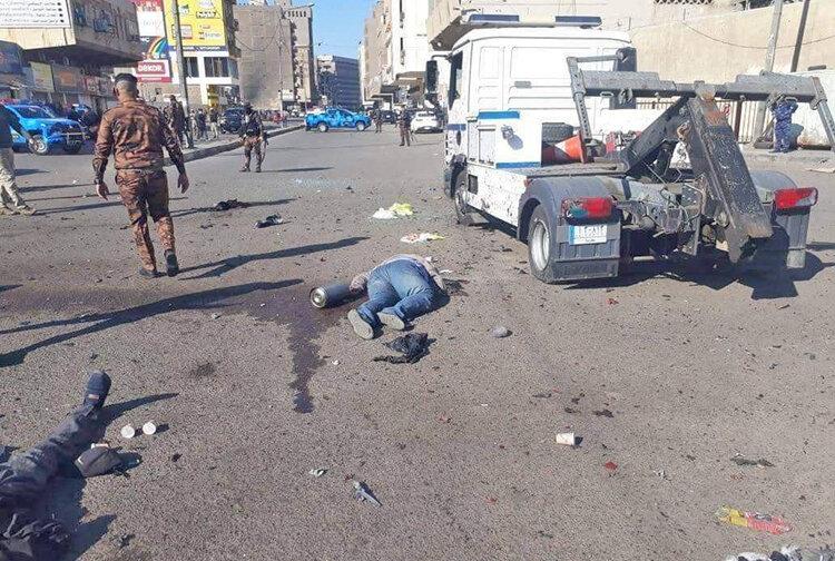 شهادت نوجوان چايفروش در انفجارهاي بغداد