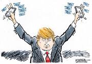 چند کاریکاتور جالب و دیدنی از رسانههای جهان درباره انتخابات آمریکا