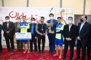 مقاومت گلساپوش یزد قهرمان فوتوالی ایران شد
