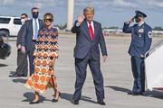 راز عوض شدن لباس ملانیا در پرواز آخر | بانوی اول پیشین راه خود را از ترامپ جدا میکند؟