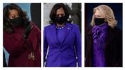چرا زنان سیاستمدار در مراسم تحلیف بایدن لباس بنفش پوشیدند؟