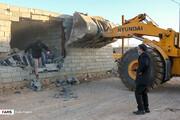تخریب ۵۰ بنای غیرمجاز در اراضی کشاورزی مرکزی