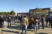 تجمع اهالی روستای احمدآباد الموت در اعتراض به قطعی آب