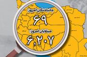 اینفوگرافیک | بازگشت شیب نزولی تند به نمودار کرونا در ایران | مقاومت یک آمار حیاتی کرونا برای تغییر بزرگ