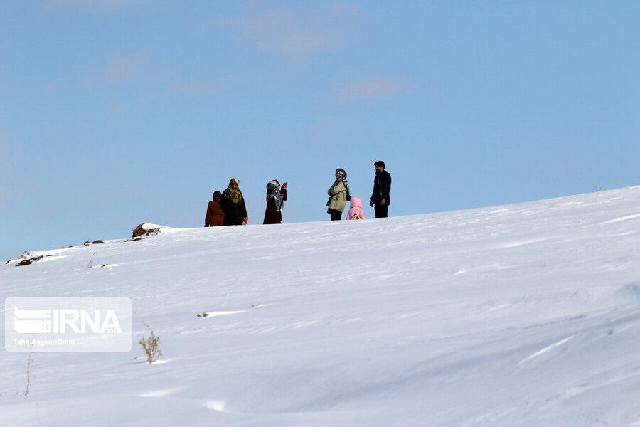 طبیعت برفی ارومیه