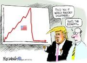 چند کاریکاتور مفهومی و جالب درباره دونالد ترامپ