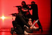 تصاویر | اجرای نمایش جدال در بجنورد