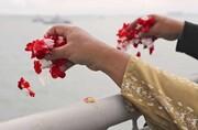 عکس روز| گلهای به یادبود قربانیان