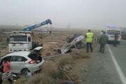 یک کشته و ۲ مصدوم در حادثه رانندگی محور فریمان - تربت