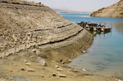 سد زایندهرود فقط ۱۴ درصد آب دارد