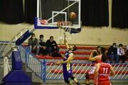 صعود خانه بسکتبال کردستان به مرحله دوم لیگ دسته یک