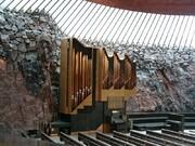 تمپیلیوکیو | کلیسایی مدرن که داخل صخره بنا شده است