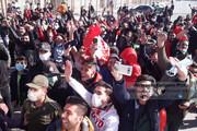 تصاویر | شور و شوق هواداران اراکی پرسپولیسبرای حضور در استادیوم