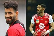 عکس | دو پرسپولیسی بهترین مدافع لیگ قهرمانان آسیا
