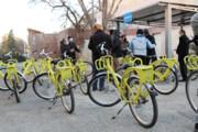 افتتاح بوستان دوچرخه در فرهنگسرای بهمن