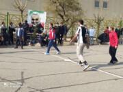 برگزاری مسابقه فوتبال گل کوچک پیشکسوتان در منطقه ۱۶