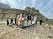 علت آتشسوزی کانکس معلم در خوزستان اعلام شد | کانکس مدرسه نبوده است