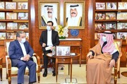 عراقچی با وزیر امور خارجه کویت دیدار کرد