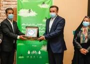 نشان شهر ملی دوچرخه به شیراز رسید