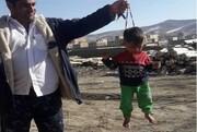 سرنوشت کودک آزاردیده با تسبیح | او ۲ خواهر هم دارد | پدر و عموی کودک دستگیر شدهاند