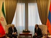 روایت توییتری ظریف از دیدار با مقامهای ارمنستانی