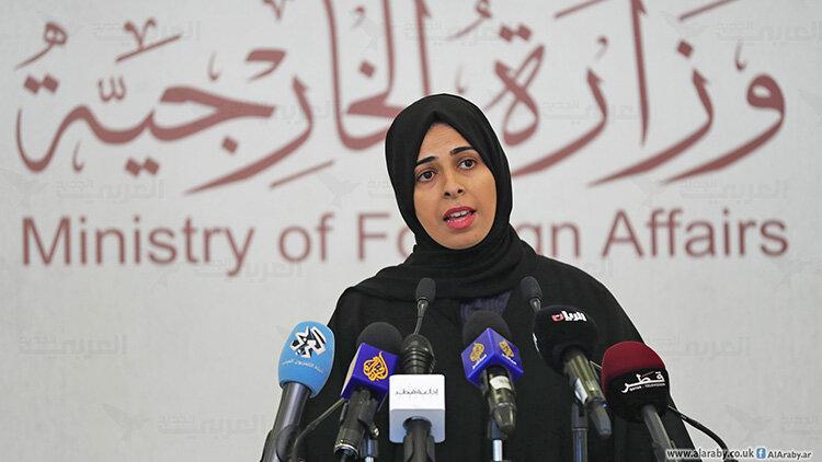 لولوه الخاطر سخنگوي وزارت امور خارجه قطر