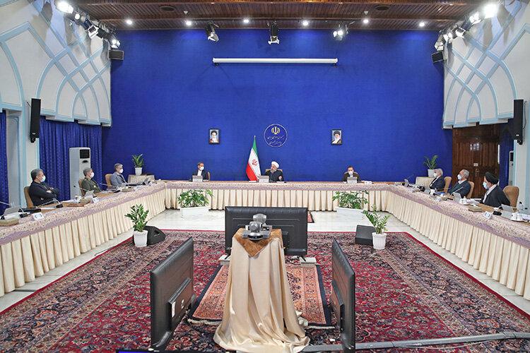 جلسه هيات دولت به رياست روحاني