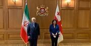 ظریف با رئیس جمهوری گرجستان دیدار و گفتگو کرد