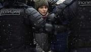 حکومت نظامی در پایتخت روسیه | بازداشت ۵۰۰۰ معترض هوادار ناوالنی در مسکو