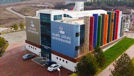 کتابخانه دانشگاه کارابوک ترکیه