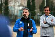 عکس | اقدام عجیب فکری علیه بازیکنانش در اینستاگرام | سرمربی آبیها در آستانه جدایی از استقلال