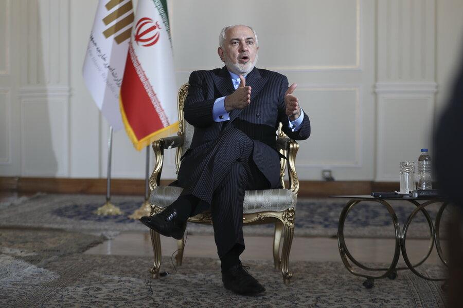 ظریف: کشور بعد از رفتن سردار سلیمانی ضربه سنگینی تحمل کرد | ماجرای نامه رهبر انقلاب به وزیر خارجه