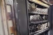 خسارت ۱.۵ میلیارد تومانی آتشسوزی در مرکز مخابراتی میانه