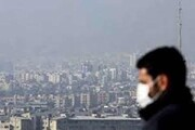 بازگشت شرایط ناسالم به هوای تهران | هوای بیشترمناطق شهر برای گروه های حساس آلوده است