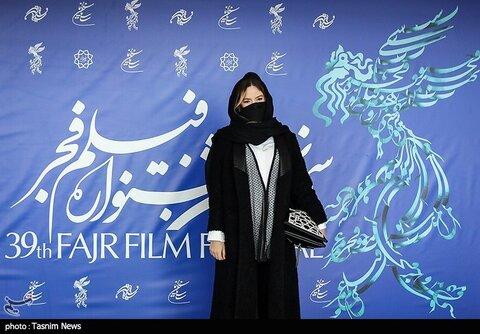 ستاره پسیانی بازیگر فیلم «یدو» در سی و نهمین جشنواره فیلم فجر